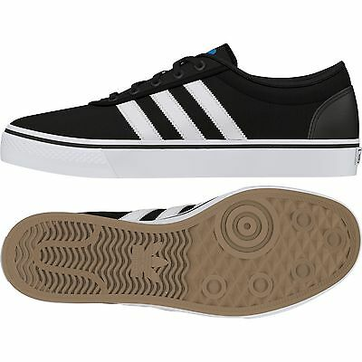 Adidas Adi Ease Black White Canvas Shoes Adi-Ease Free Postage Australian Seller