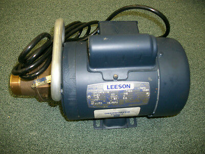 LEESON OBERDORFER Macerator Sewage Pump  Port. or Station. FIG 9556  214MF35