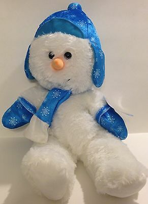 2014 SUGAR LOAF CHRISTMAS HOLIDAY COLLECTION PLUSH / STUFFED SNOWMAN - NWT