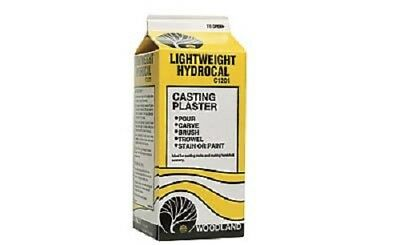 Woodland Scenics Lightweight Hydrocal Casting Plaster 1/2 Gallon C1201