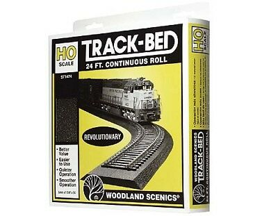 Woodland Scenics Track-Bed 24' Seamless Roll OO Gauge ST1474