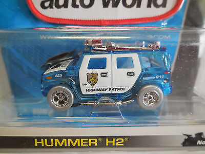AUTO WORLD ~ HUMMER HIGHWAY PATROL ~ LIMITED PRODUCTION ~ ALSO FITS AFX, JL, AW