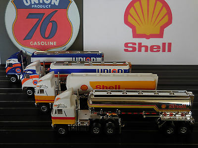 AUTO WORLD ~ BRAND NEW SHELL AND UNION 76 TANKERS~ NEW IN BOX ~ FITS AFX, AW, JL