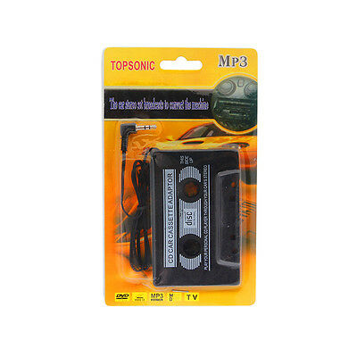 TOPSONIC Car Audio Tape Cassette 3.5mm for iPhone MP3 Smartphones