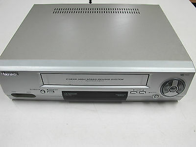 MAGNAVOX VHS Player MODEL : MVCR-20(V2) Tested Working no Remote