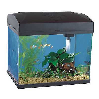 Fish 'R' Fun Aquarium Fish Tank Rectangular Aquarium Black 20L