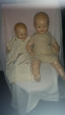 Baby Dimples  Dolls - Vintage Early 1900s Trio