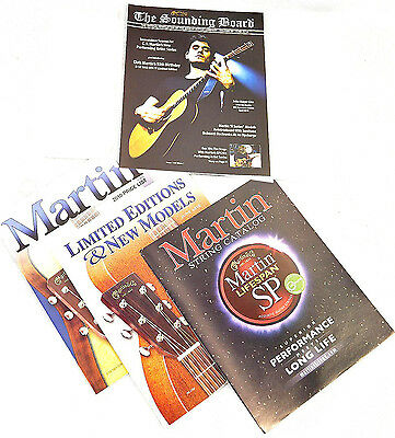 New Martin Guitars Official SOUNDING BOARD CATALOG June 2010 Vol 29 & Price List