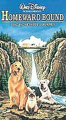 Homeward Bound: The Incredible Journey (VHS, 1998)