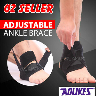 Adjustable Sports Compression Ankle Brace Support Stabilizer Elastic Foot Wrap