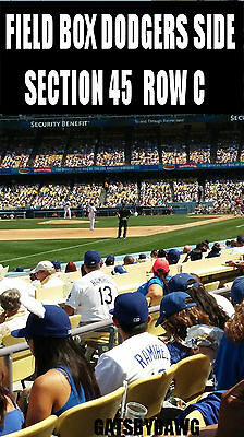2 LA Dodgers Tickets 4/15 Seattle Mariners FIELD Jackie Robinson Jersey