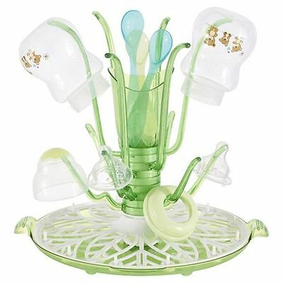 Munchkin Baby Bottle Sprout Child Baby Drying Rack (green)