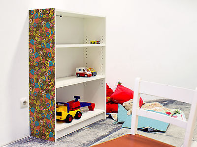 YOURDEA KINDERZIMMER MÖBEL Klebefolie IKEA Billy Regal 100x80cm Getarnter  Vogel
