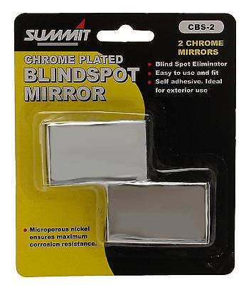 Pair of Summit Car Van Convex Blind Spot Mirror Towing Reversing Blindspot
