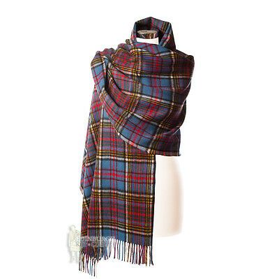 Edinburgh - Luxurious, Soft & Warm 100% Lambswool Stole - Anderson