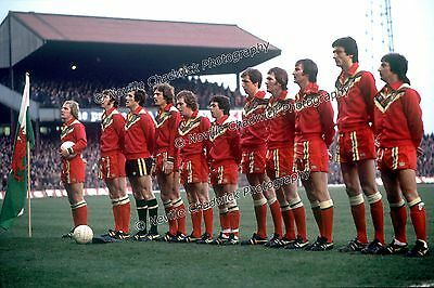 Wales Line up Photo 1977