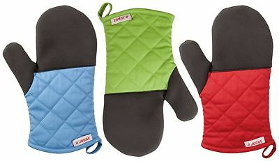 Judge Traditional Single Oven Mitt Glove Assorted Colours
