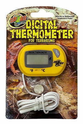 Zoo Med Reptile Digital Terrarium Thermometer