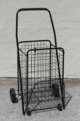 【20%OFF】Collapsible Shopping Trolley Steel Basket Folding Shopping Trolley C