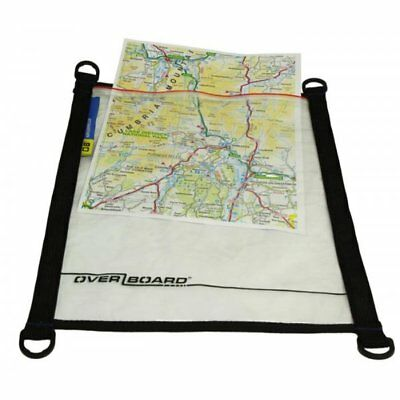 Overboard A4 100% Waterproof Map Pouch Zip Lock Document Protection