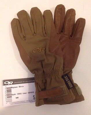NEW! $200 Outdoor Research OR Neptune Gore-tex Tactical Gloves. Made In USA. S