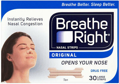 Breathe Right Large Strips for Normal Skin (30)