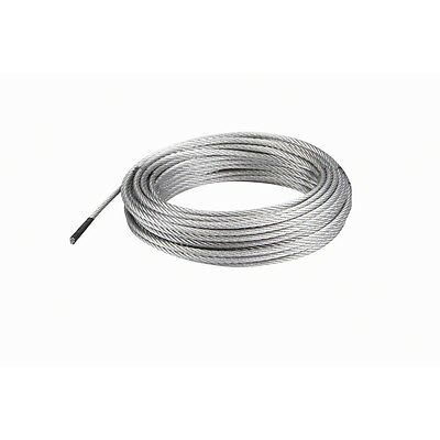 "5/32"" x 50 ft. 2640 lb. Galvanized Wire Rope Aircraft Cable"