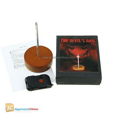 Devil's Nail Laser Beam Edition Electronic Mental Close-Up Stage Magic Tricks