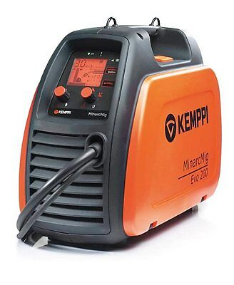 Kemppi MiniarcMig 200 EVO Adaptive 230 Volt Generator Friendly