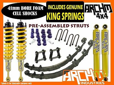 TOYOTA HILUX 2005-ON (KUN26R) ARCHM4X4 XTREME 2INCH-40mm F&R SUSPENSION LIFT KIT