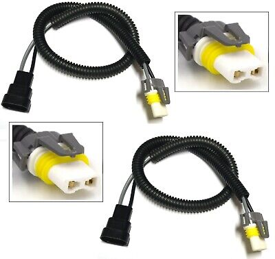 WIRE HALOGEN 20 INCHES LONG 9006 HB4 ONE HARNESS CERAMIC CONNECTOR FOG PLUG PLAY