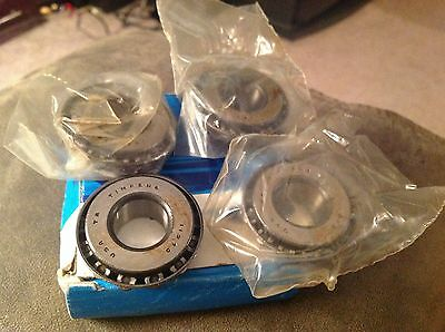 Nos 1966 - 1971 Ford Bronco Front Spindle Bolt Bearings Set Of 4 New Oem