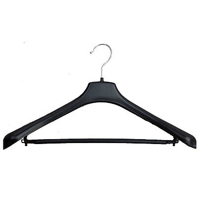 3pcs SUIT HANGER Jacket Pants Clothing Coat Non Slip Broad Shoulder Tube Holder