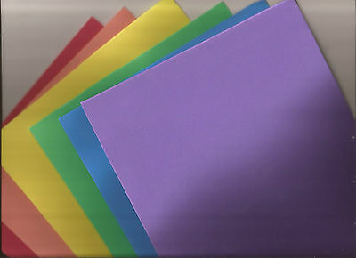 EVA craft sheets - 19.5cm x 39cm - foam craft - 6 colours to choose from