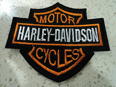 New Harley Biker Embroidered Cloth Patch Applique Badge Iron Sew On