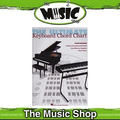New The Ultimate Keyboard Chord Chart Music Tuition Aid - Piano Tuition
