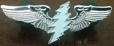 Grateful Dead / Furthur Wings Hat/Lapel Pin with 13 point Glow Bolt Pin