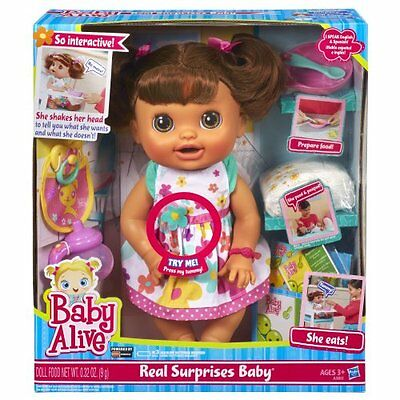 NEW Baby Alive Real Surprises Baby Doll