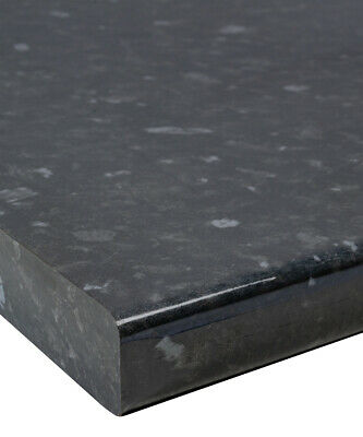 Black Slate/Granite Gloss 30mm Laminate Kitchen Worktop by Oasis - Fast & Free