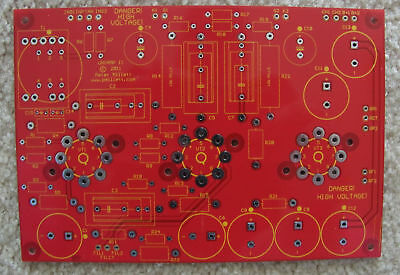 2X DIY PCB - Universal push-pull power amp board