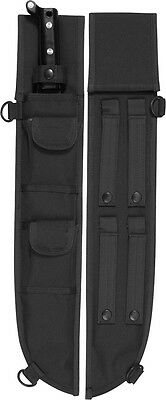 Black Tactical MOLLE Machete Sheath Case Cover 18""