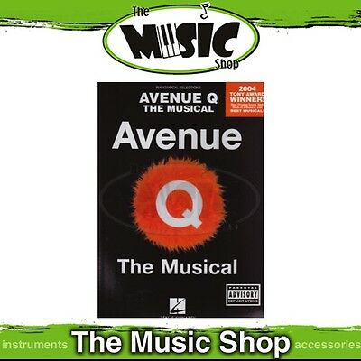New Avenue Q the Musical Vocal & Piano Selections Music Book