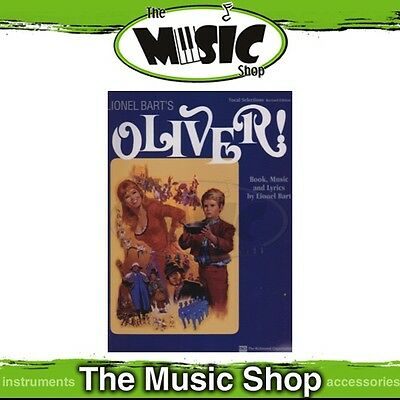 New Oliver the Musical Vocal & Piano Selections Music Book - Revised Edition