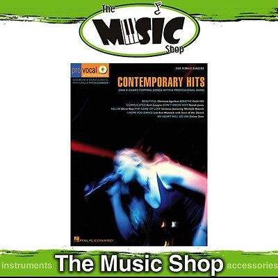 New Contemporary Hits Pro Vocal Women's Edition Music Book & CD - Volume 3