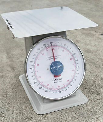 Kitchen Scale 100kg Loading w/ Stainless Steel Tray Traditional Scale