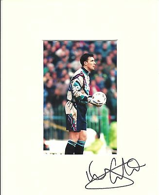 A 10 x 8 inch mount personally signed by Tony Coton. With Manchester City photo.