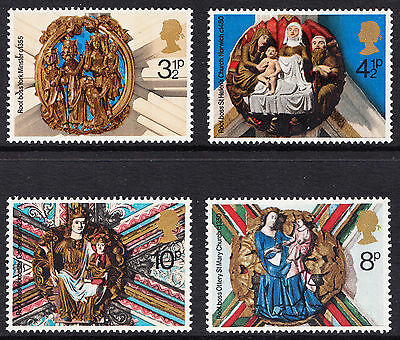 GB 1974 Christmas SG966 - 969 Complete Set Unmounted Mint