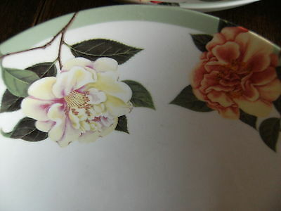 Queens by Churchill Royal Horticultural Society 4 New China Soup Bowls/Dishes
