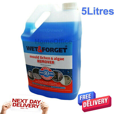 5L Wet And Forget Mould, Algae And Lichen Removal & Makes 30L New