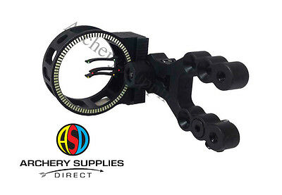ASD Hawk 3 Pin Archery Fibre Optic Compound Bow Sight